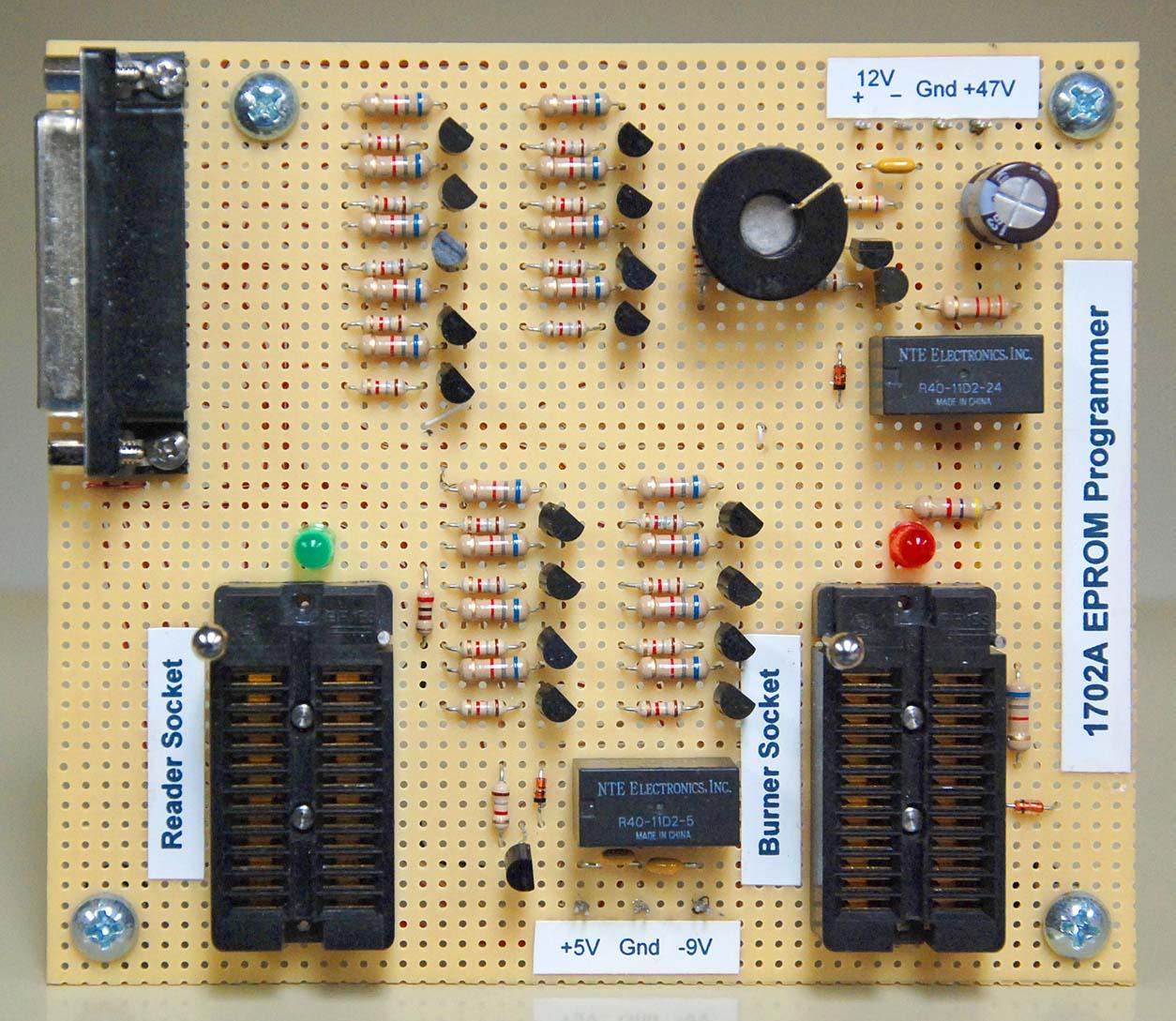 1702A PROM Programmer