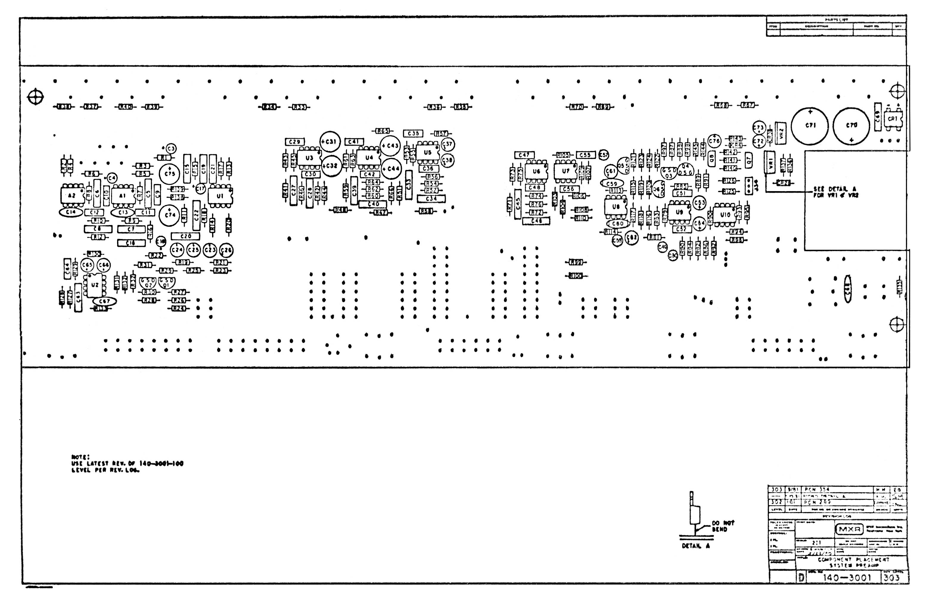 Schematic Mxr System Preamp Ii M 150