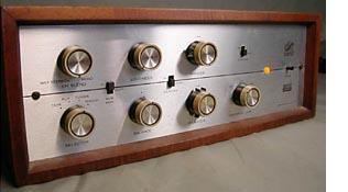 Eico ST-40 ST-70 Tube Amplifier Beige Button Knob w// Paper Insert