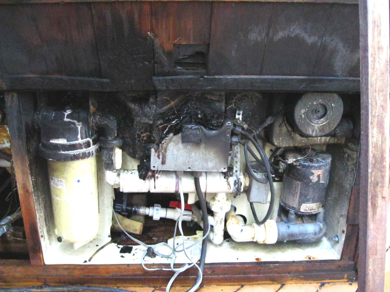 hot-tub heater control