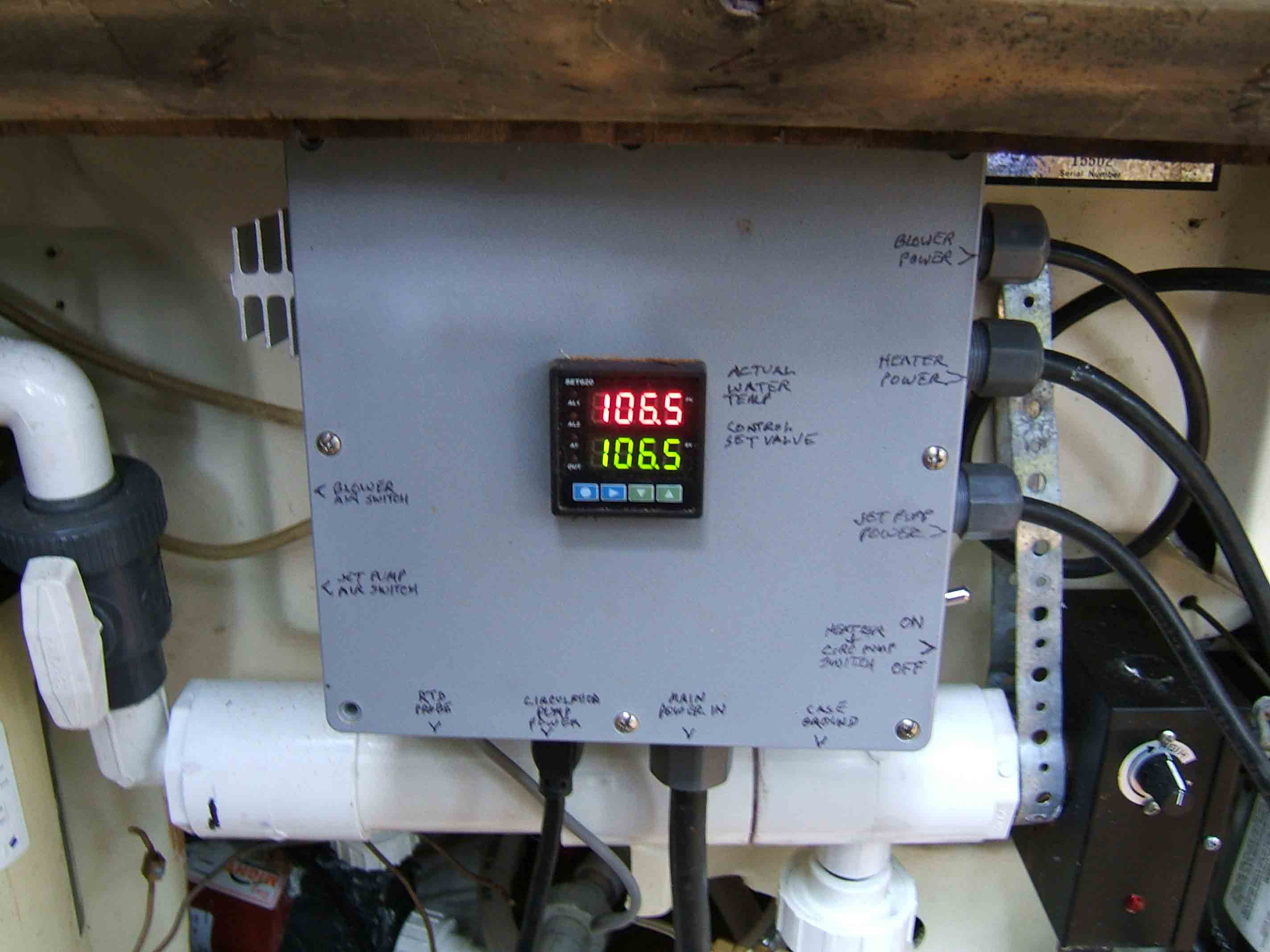 Hot Tub Heater Control Ever Built Water Thermostat Wiring Diagram Box Exterior